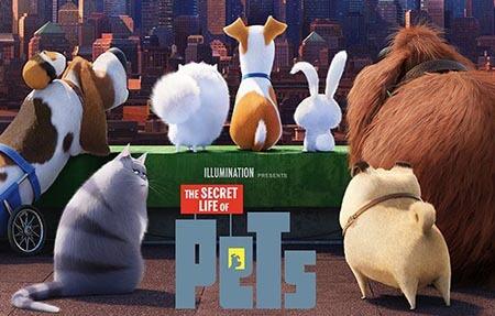 Análise de Pets - A Vida Secreta dos Bichos