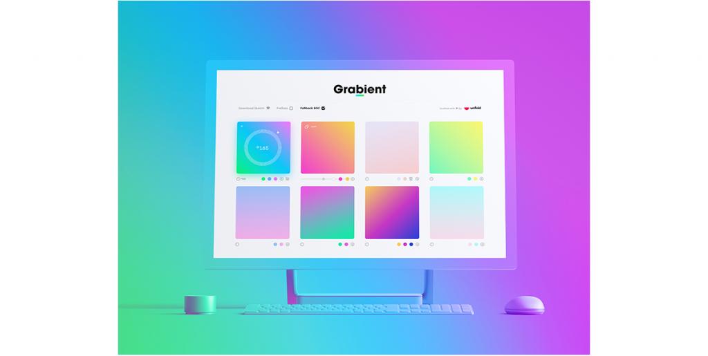 5 ferramentas favoritas de gradiente