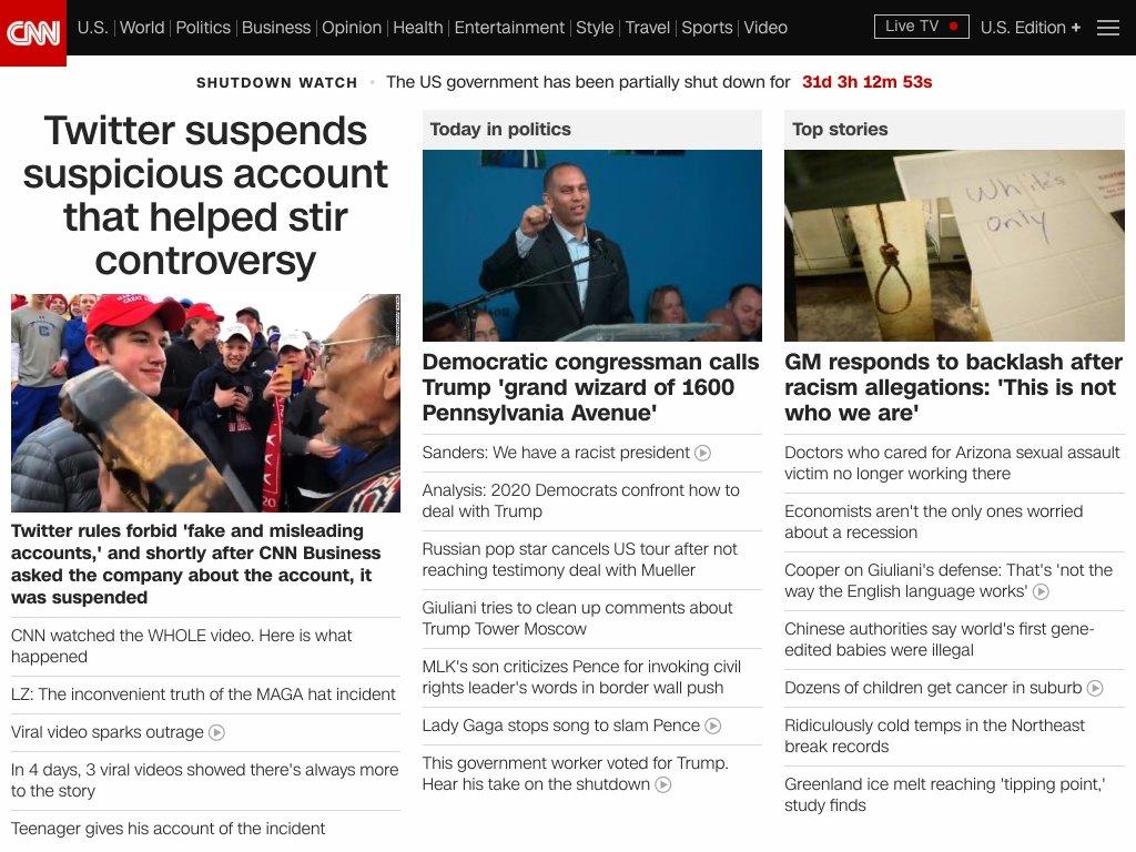 CNN 2019