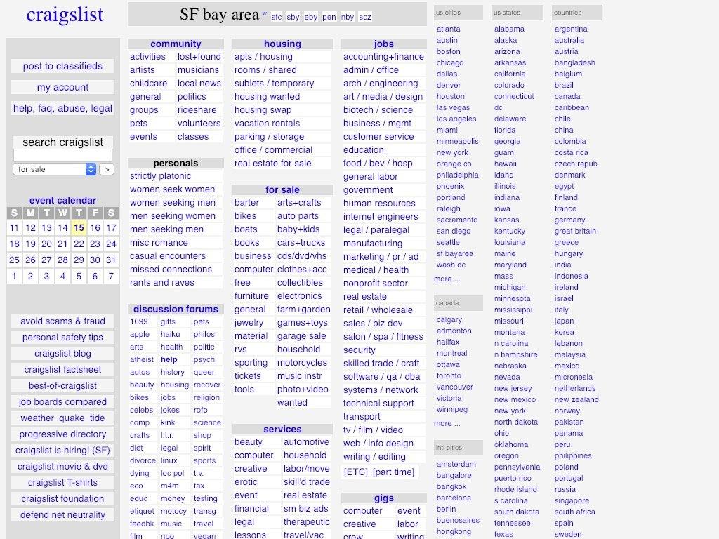 craigslist 2009