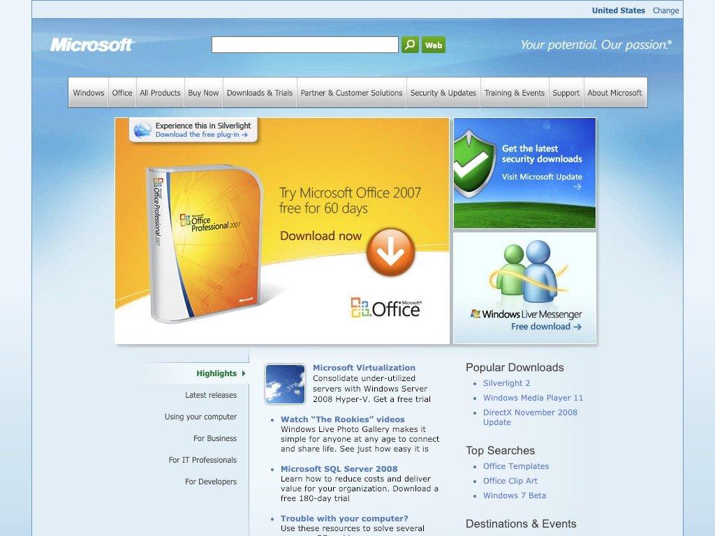 Microsoft 2009