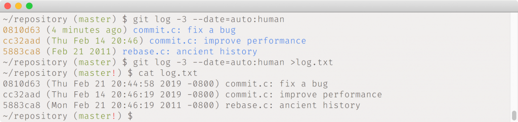 Destaques do Git 2.21