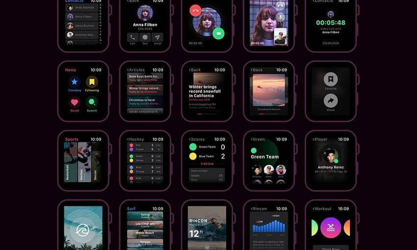 Inicie seu projeto com 7 kits de interface do usuário do Adobe XD