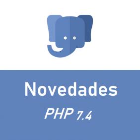 Novo no PHP 7.4