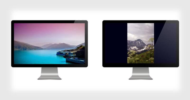 O problema de visualizar fotos em exibições digitais