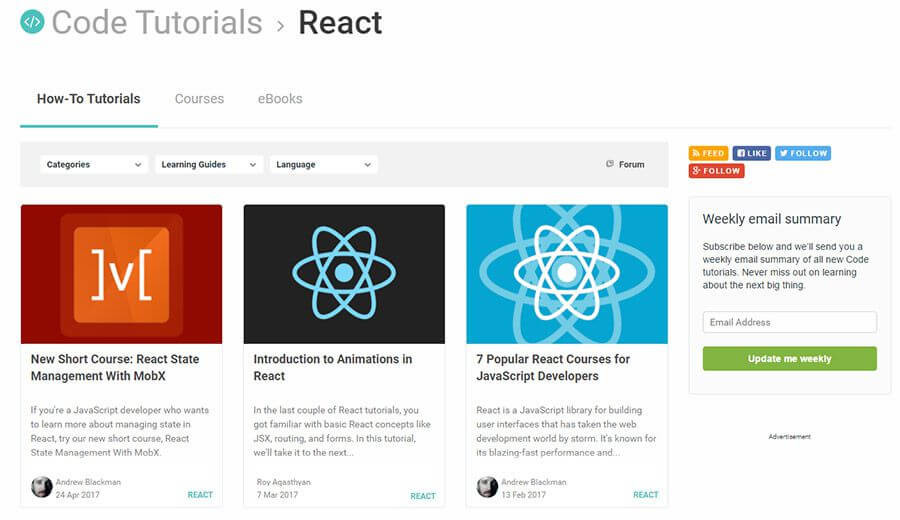Top 10 recursos gratuitos para aprender React.js