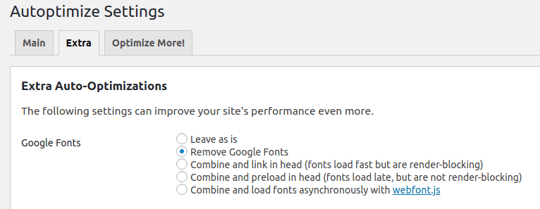 Carregue as fontes do Google 5 vezes mais rápido no WordPress