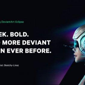 DeviantArt lança novo visual elegante