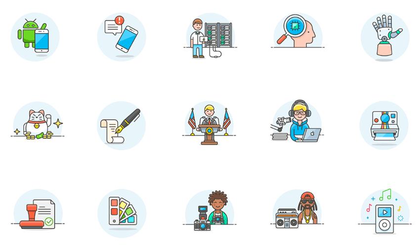 Ilustrações gratuitas para seus projetos de design