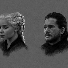 Arte dos fãs de Game of Thrones para tirar vantagem do novo episódio em espera