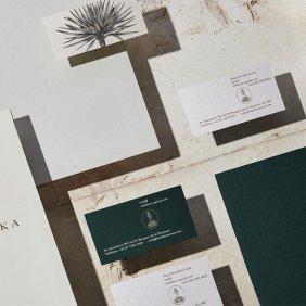 Identidade corporativa do lanka: inspiração da vegetação e da natureza