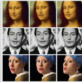 Samsung AI pode transformar um único retrato em uma cabeça de fala realista