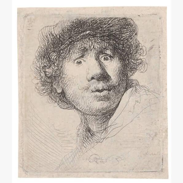 Como tirar uma selfie, de acordo com Rembrandt