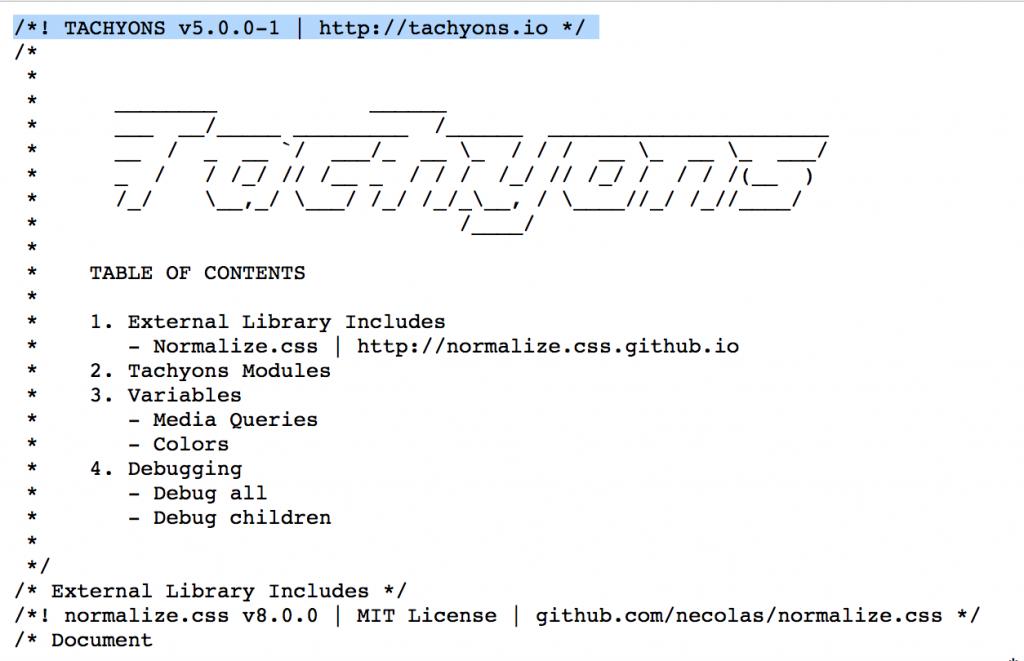 Aqui está uma lista das principais bibliotecas front-end de CSS