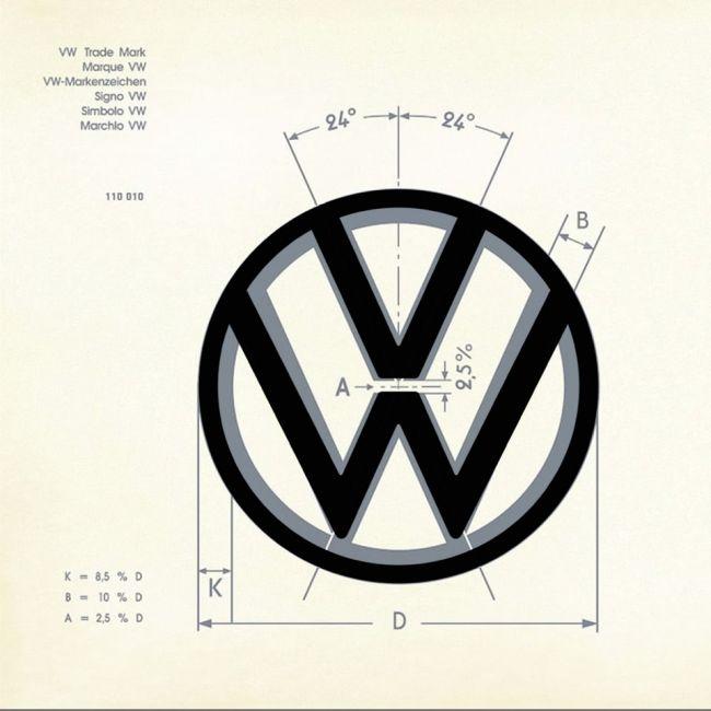 Novo logotipo da Volkswagen quebra suas próprias regras