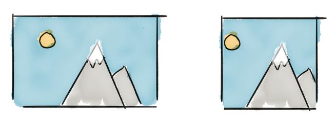 Cortando imagens para uma proporção específica com JavaScript