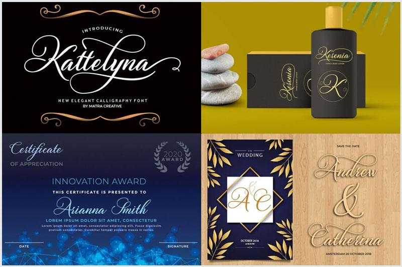 15 fonts script criativas incríveis para 2020