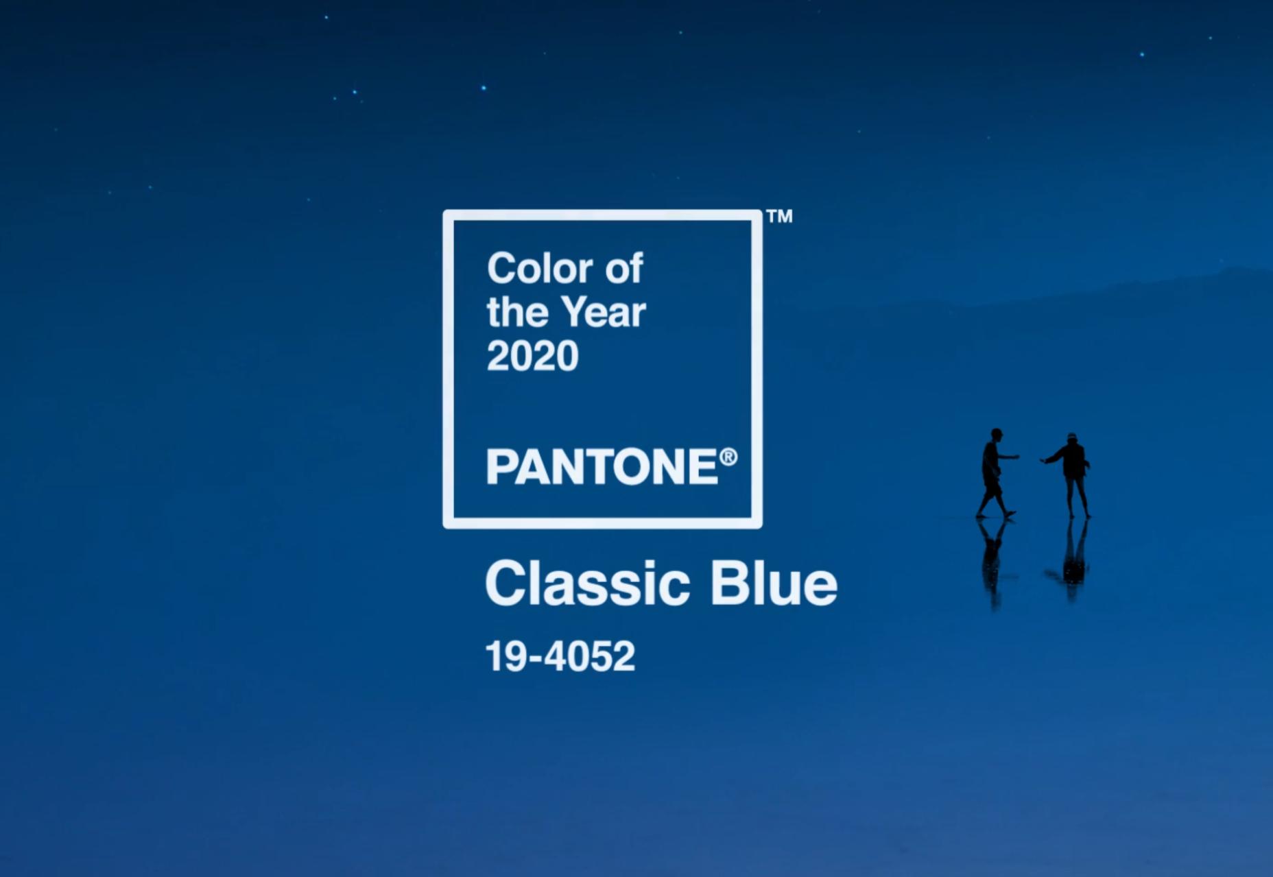 PANTONE ANUNCIA SUA COR DE 2020