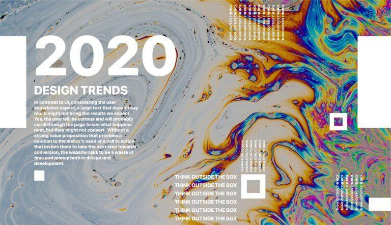 Tendências de Design 2020: Fora da caixa