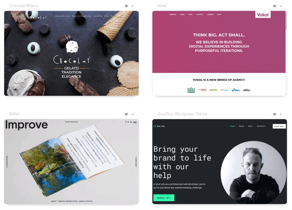 10 Vitrines de Web Design incríveis