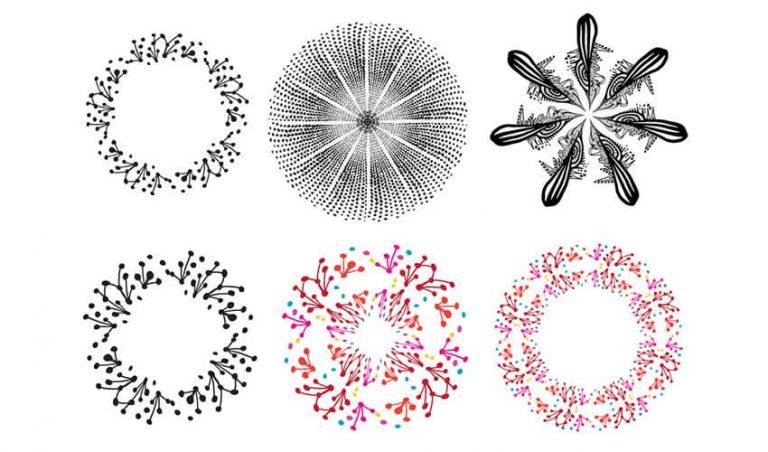 15 Pacotes De Pincéis De Ilustrador De Alta Resolução Gratuitos