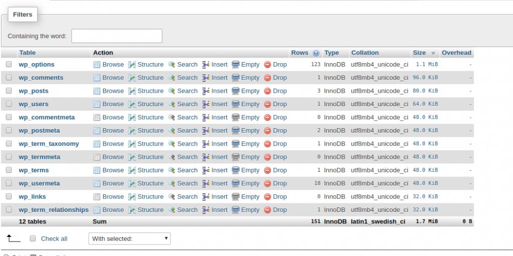 Como otimizar o banco de dados do seu site