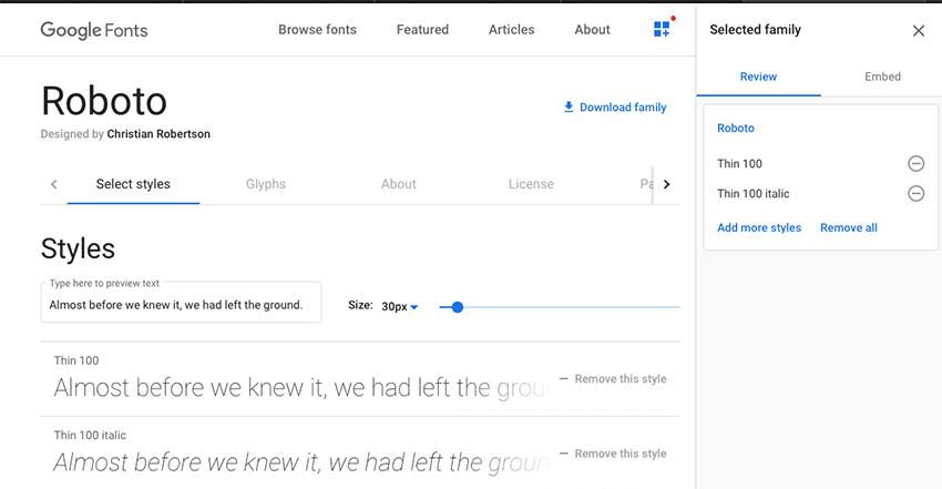 Como carregar fontes do Google ou Adobe no WordPress