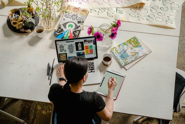 Ilustrações on-line: Como desenhar ilustrações no seu computador