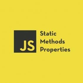 Métodos estáticos e propriedades em classes JavaScript