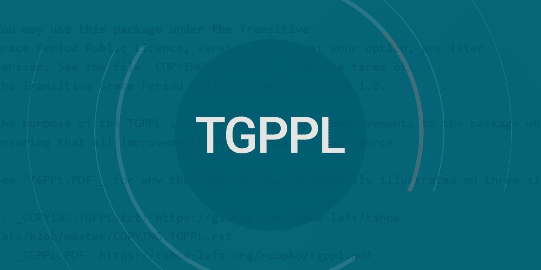Apresentando TGPPL, um tipo radicalmente novo de licença de código aberto