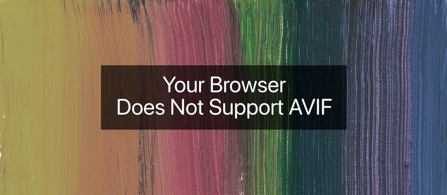 Como usar AVIF: o novo formato de compactação de imagem de última geração