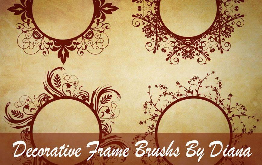 30 pincéis redemoinho e fita para Photoshop de alta qualidade