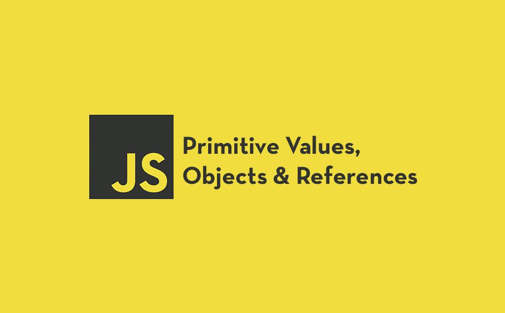 Valores primitivos, objetos e referências em JavaScript simplificado