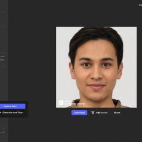 Esta incrível ferramenta de IA permite que você crie rostos humanos do zero