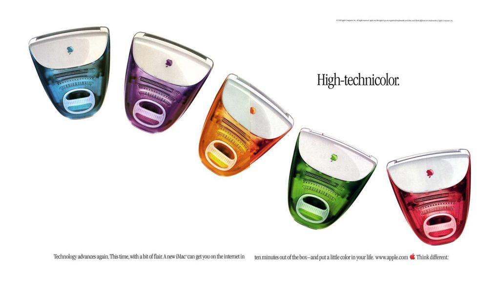 O novo iMac anuncia a transição da formalidade para cores suculentas