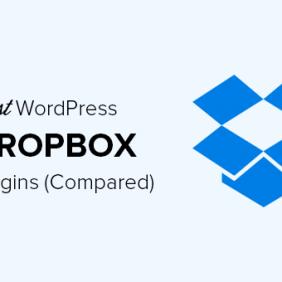 6 melhores plug-ins do Dropbox para WordPress